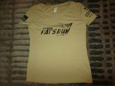 Pat Tillman #42 Pat's Run Arizona State ASU Running Training Shirt Women's SM S