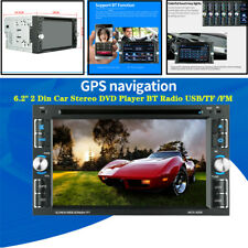 6.2''Digital Multimedia MP5 Player Radio Car Stereo FM BT Touchable USB GPS Kit