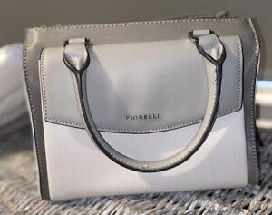 Fiorelli Grey Steel Mia Handbag Cross Over Body Grab Bag