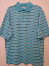 Kirkland Mens S/S Blue Golf Polo Shirt NWOT - Size XL