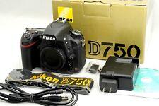 <Excellent +> Nikon D750 24.3 MP Digital SLR Camera, Shots 25,442 Body Only *269