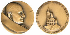 MEDAGLIA PAPA GIOVANNI XXIII°  80° DON LUIGI CASALI 1921 - 2001 opus Verdi#PL588