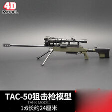 """TAC-50 MODO Sniper Rifle Weapon Gun F 1/6 Scale12"""" Action Figure 1:6 Model Toy"""
