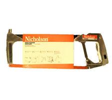 Nicholson 80965 High Tension Hacksaw / Jab Saw / Flush Cut Saw - Made in USA -