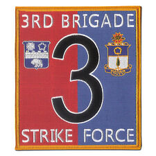 "New 7"" X 6 1/8"" 3rd Brigade, 7th Infantry Div (L) - 17th and 21st Infantry Reg"
