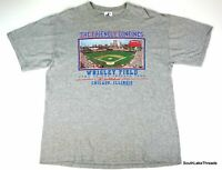 VTG Men's Logo Athletic Chicago Cubs Wrigley Field Friendly Confines T-Shirt XL