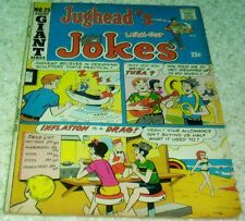Jughead's Jokes 25, Vf (8.0) 1971 Archie, Beach cover! 50% off Guide!