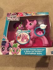 My Little Pony Princess Twilight Sparkle Spike the Dragon Friendship Duet