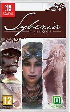 Syberia Trilogy - Nintendo Switch BRAND NEW SEALED