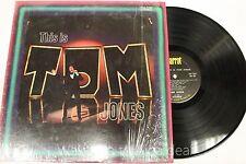 "This is Tom Jones LP 12"" (VG)"