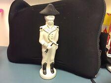 """Galliano Bottle  RARE White Soldier / Black Hat Vintage 10"""" Empty!  Estate Find"""
