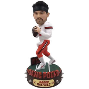 Baker Mayfield Cleveland Browns Dawg Pound Series Bobblehead NFL