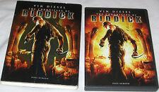 Chronicles of Riddick DVD 2004, Full Frame Judi Dench, Vin Diesel FREE SHIP USA