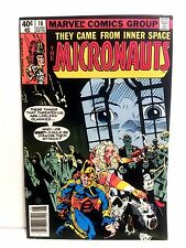 Micronauts #18, Marvel, 1980, Near Mint condition, 9.4 NM, Uncertified