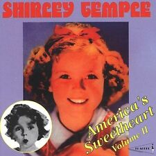 America's Sweetheart, Vol. 2 by Shirley Temple (CD, Oct-1996, Pearl)