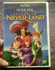 Peter Pan in Return to Never Land  DVD - Like New