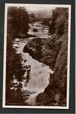 The Reekie Linn near Alyth Perthshire 1940's ? RP Postcard ~ NICE IMAGE