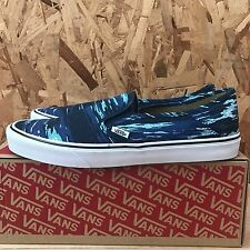 VANS SLIP ON SF BEACH BRIGADE BLUE SIZE 9 NEW IN BOX