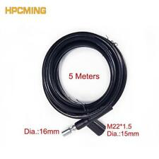 High Pressure Washer Hose Black Replacement And Extension Wash Car Connect