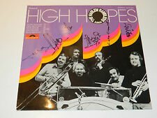 signed LP The HARLEM Ramblers High Hopes POLYDOR 2377307 zurich 1974 dixieland