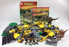 LEGO Dinosaur Set 5887: Dino Defense HQ, Complete w Instruction Manual, No Box