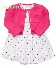Carter's Polka Dot Dress With Cardigan NEW & AUTHENTIC