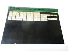 Kawasaki Special Tool CATALOG Micro Fiche 99961-0167