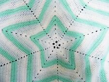 *Handmade to order!* Crochet, star toddler blanket. Baby gift