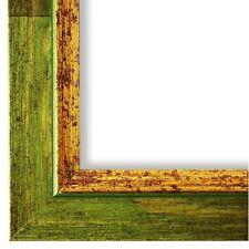 Bilderrahmen Rahmen Grün Gold Vintage Antik Catanzaro 3,9 - NEU