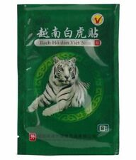 8 patchs anti-douleur Baume du Tigre Blanc /Livraison gratuite en 2/3 jours