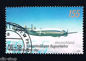 GERMANIA IL FRANCOBOLLO AEREO 2005 timbrato