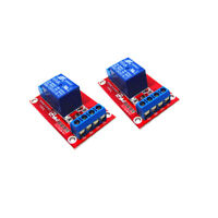 2x 3V 1 Channel Relay Module Optocoupler Isolation Control Board Dual Power