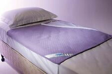 WASHABLE INCONVENIENCE WATERPROOFED BED PAD PROTECTOR100*100CM ALL EDGES COVERED