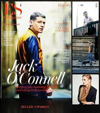 "JACK O'CONNELL ANTONY GORMLEY LAURA BAILEY THE ""COREGASM"" ES MAGAZINE MAY 2016"