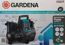 Gardena 1758-20 Comfort 4000/5E Hauswasserautomat, Pumpe, 4.000 l/h - Neu & OVP