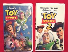 Disney's Toy Story & Toy Story 2 VHS Tapes