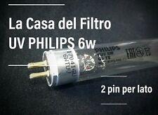 LAMPADA UV 6W PER DEPURATORE ACQUA OSMOSI INVERSA - 2 pin per lato RICAMBIO