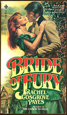 Bride of Fury by Rachel Cosgrove Payes & Ron Goulart-Jack the Ripper Tie-In-1980