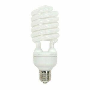 Satco Energy Saver 85 watt CFL Bulb. Medium Base. 5700 Lumens