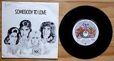 """QUEEN 1976 SOMEBODY TO LOVE 7"""" VINYL 45 EMI 2565 P/S"""