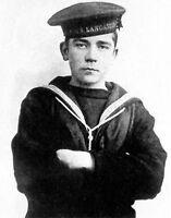 7x5 Photo ww1CFC World War 1 Children Great War Children Jack Cornwell 101