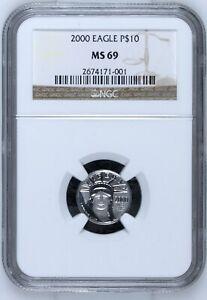 2000 Platinum 10 Dollar Eagle
