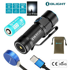 Olight S1r Turbos 900 Lumen Mini Taschenlampe Dock