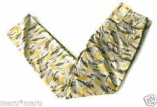 New Mens LEVIS 511 SLIM Chino 30 x 32 FOREST LEAVES gray/yellow pants leaf camo