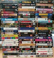 Lot of 70 to 75 VHS Tapes Movies Action Adventure Classics & More! 50% LN or NEW