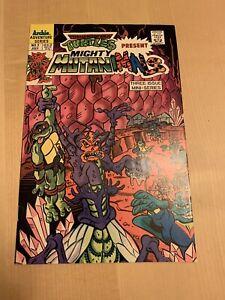 Mighty Mutanimals Archie Comics 1991, Teenage Mutant Ninja Turtles,  Notes