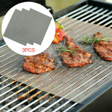 5pcs/pack Grill Mat Smooth Surface Non Stick Food Teflon Home Party Grilling Mat