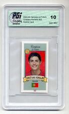 2003 Campioni Futuro Cristiano Ronaldo True Rookie Card PGI 10