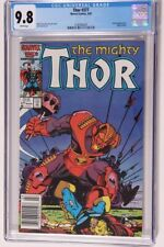 The Mighty Thor #377  12/86 Newsstand  CGC 9.8
