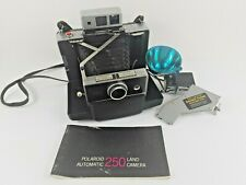 Vintage Polaroid 250 Automatic Land Camera & Accessories